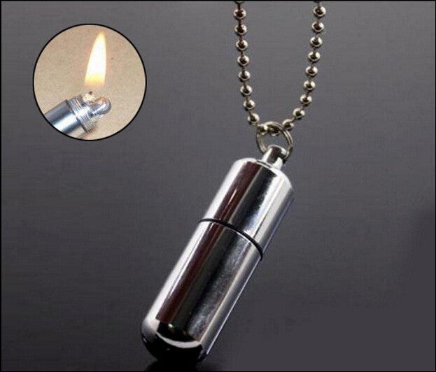 Outdoor Keychain Fire Starter Capsule