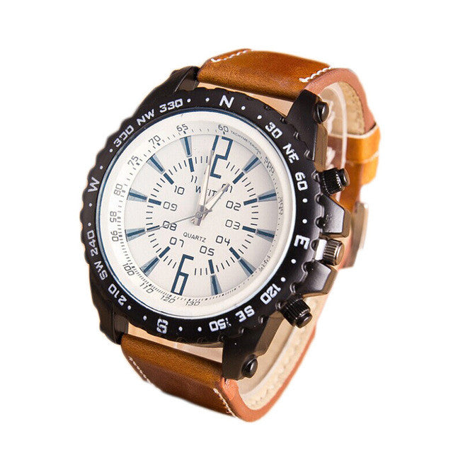 Compass Style Watch