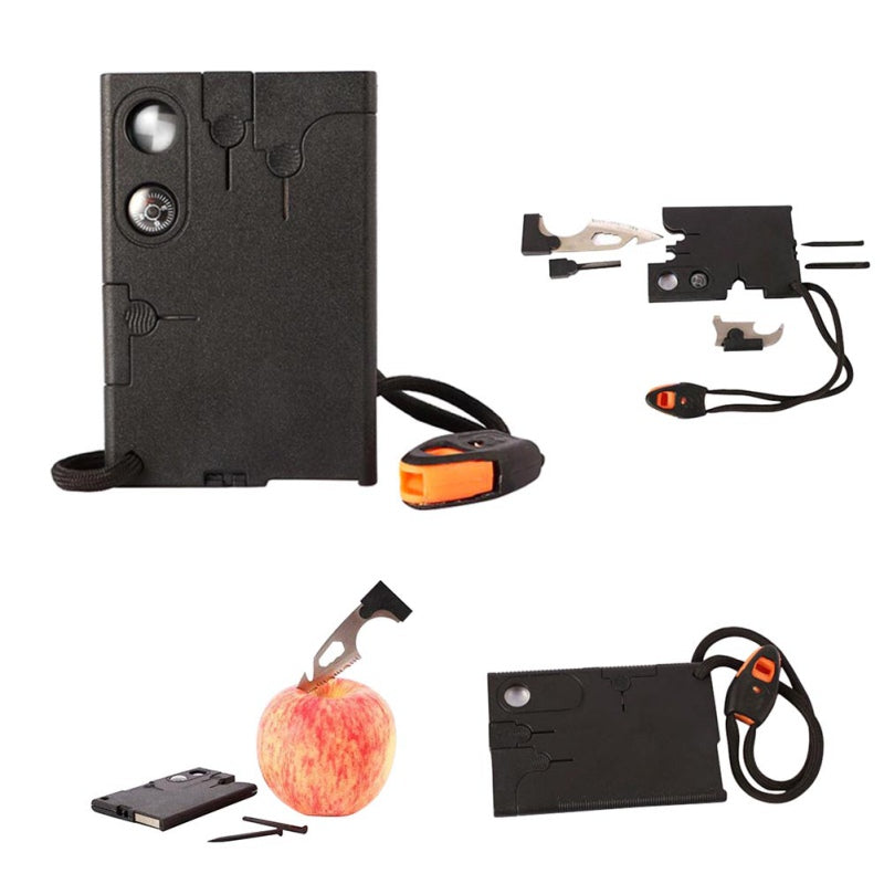 Portable Outdoor 18-In-1 Card Multi-purpose Card