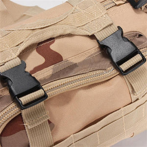 Outdoor Canvas Utility Camouflage Military Tactical Waist Bags