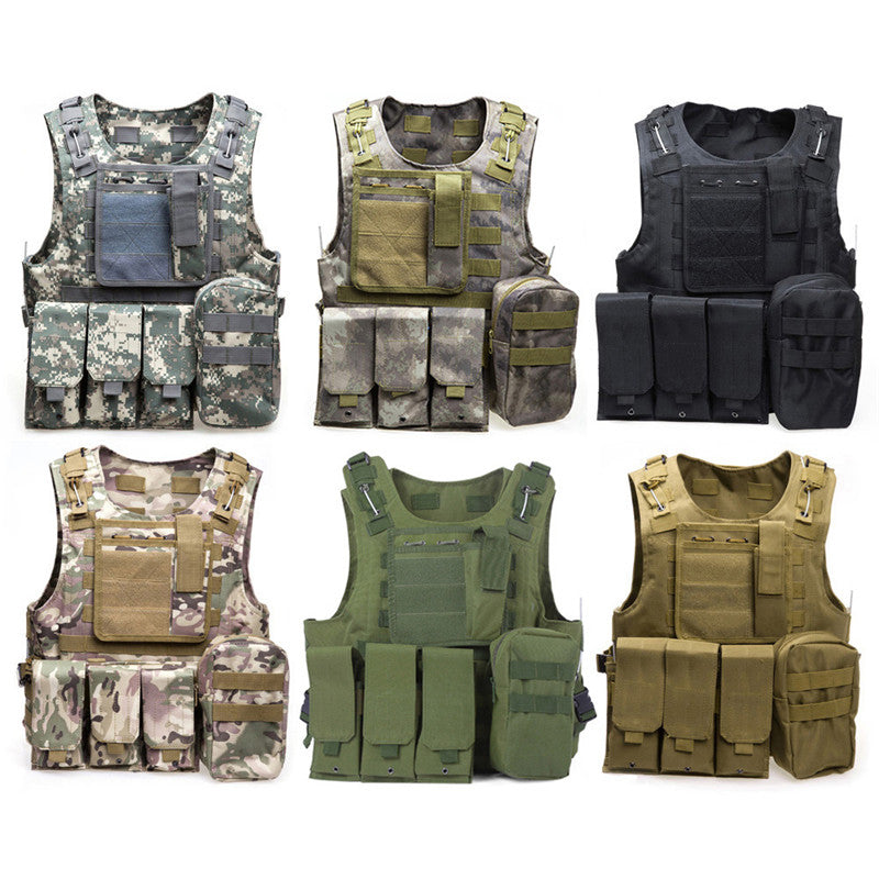 Camouflage Hunting Tactical Vest