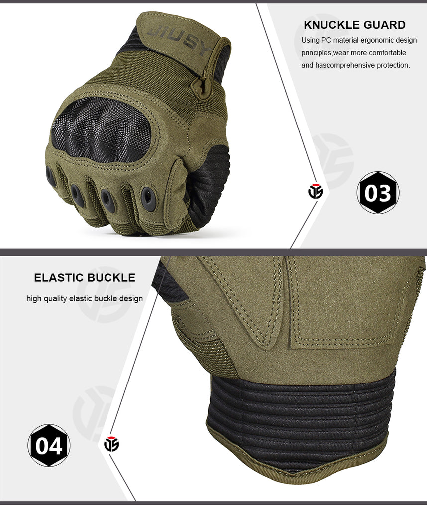 TACTICAL & RIDER GLOVES™ - SOFT KNUCKLE TOUCHSCREEN COMPATIBLE