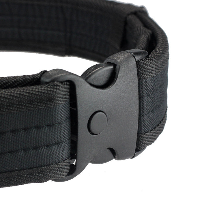 Woodland Camo Waistband Tactical Belt