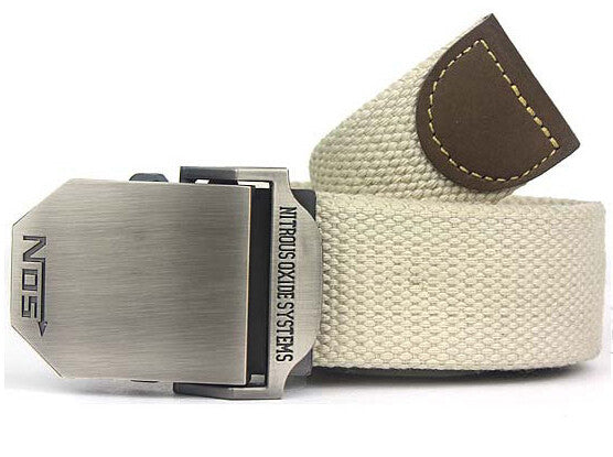 Hot NOS Men Canvas Outdoor Belt