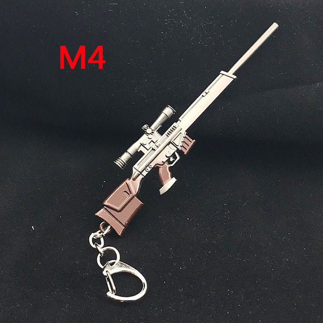 PUBG Copper Keychain