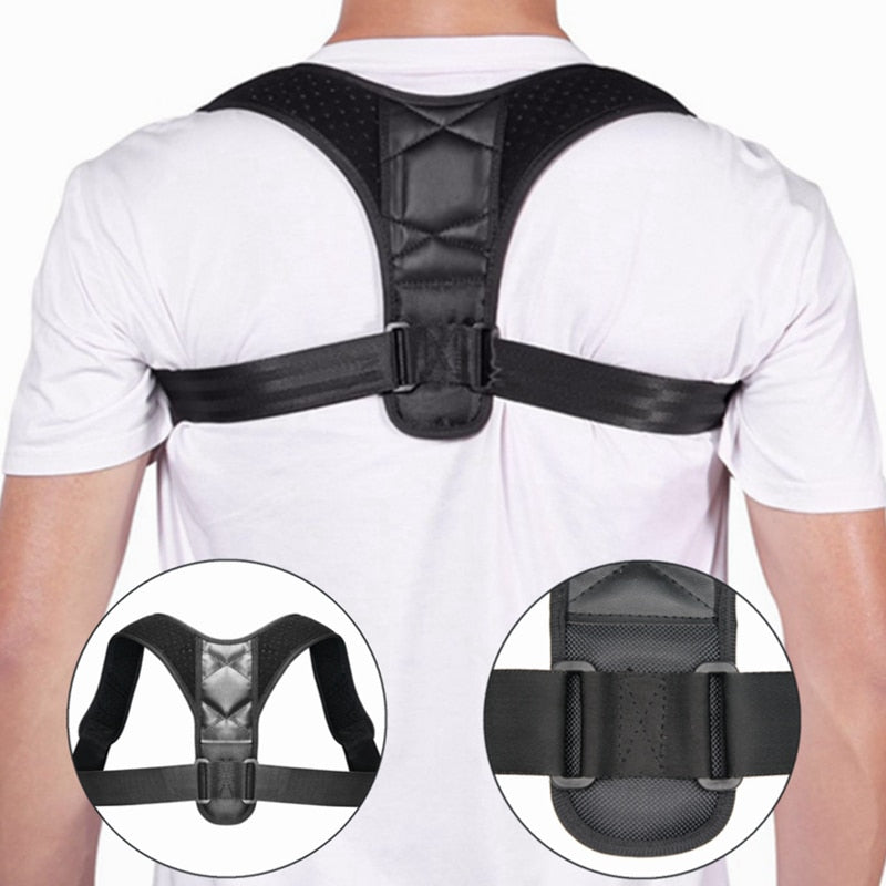 Body Posture Corrector (Adjustable to Multiple Body Sizes) - Free Shipping