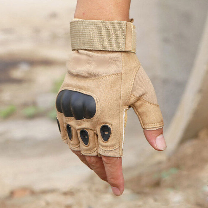 Tactical Anti-Slip Half Finger Gloves