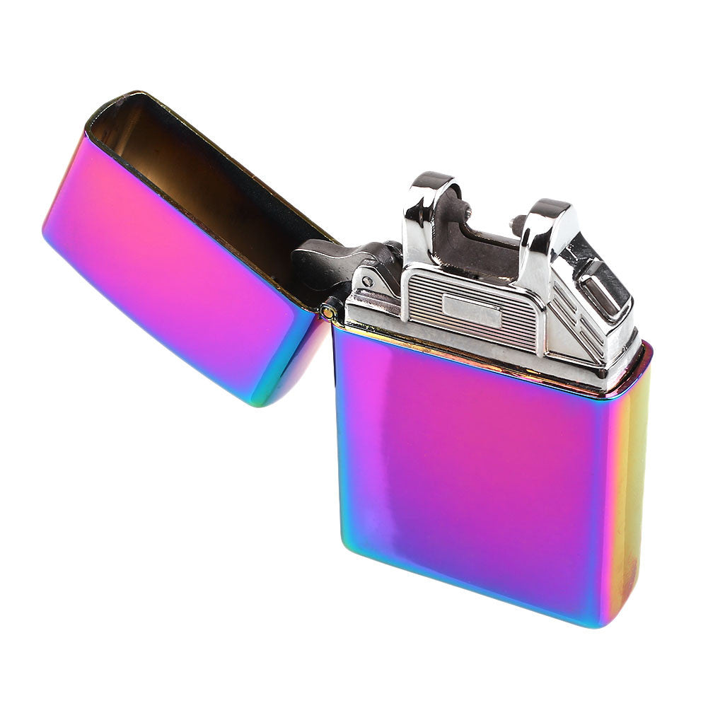 USB Rechargeable Flameless Electric Arc Cigarette Lighter