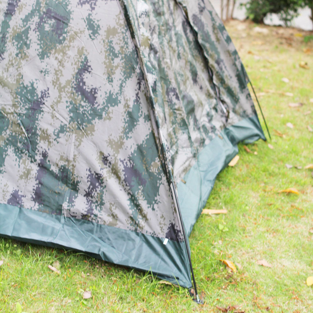 New 3-4 person Outdoor Camping Waterproof 4 season folding tent Camouflage Hiking
