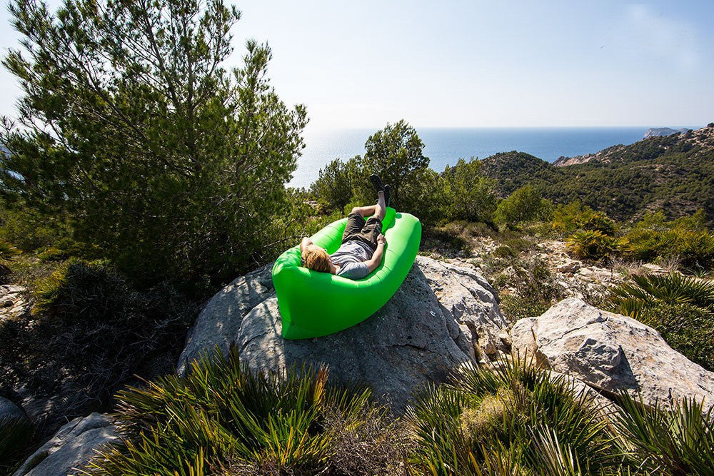 Inflatable Lazy Banana Hammock
