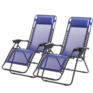 Outdoor Zero Gravity Chairs Case Of 2 Lounge Chairs