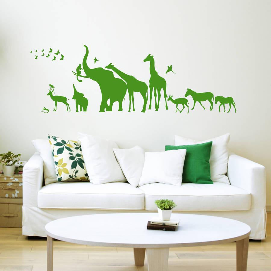 How to fit, apply and install wall stickers