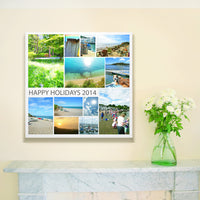 Your Images on Canvas - Montage