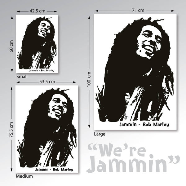 Bob Marley Wall Sticker