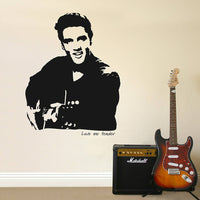 Elvis 'Love me tender' Wall Sticker