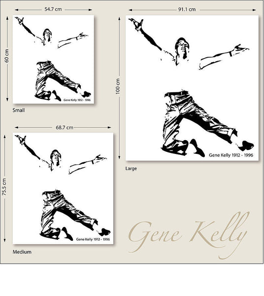 Gene Kelly Wall Sticker