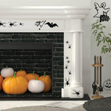 Halloween Spiders And Pumpkin Sticker Sets