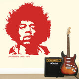 Jimi Hendrix Wall Sticker