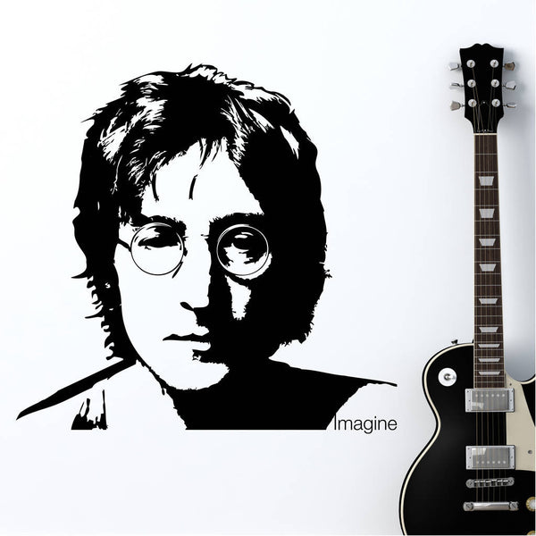 John Lennon 'Imagine' Wall Sticker