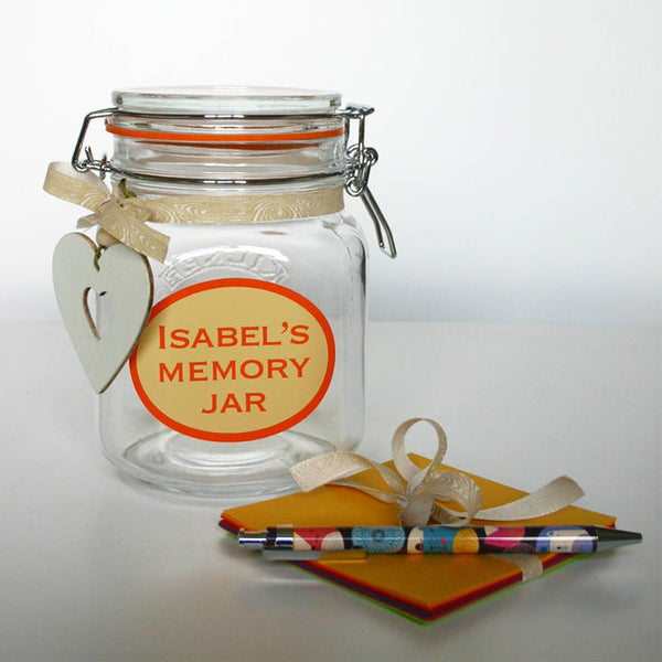 Personalised Memory Jar