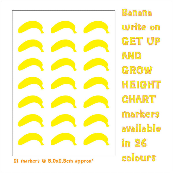 Personalised Safari Height Chart - 1 piece