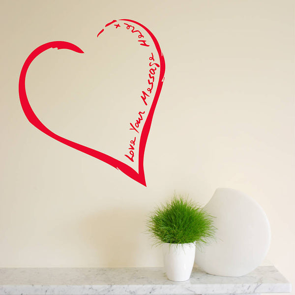 Your Heart On The Wall Sticker