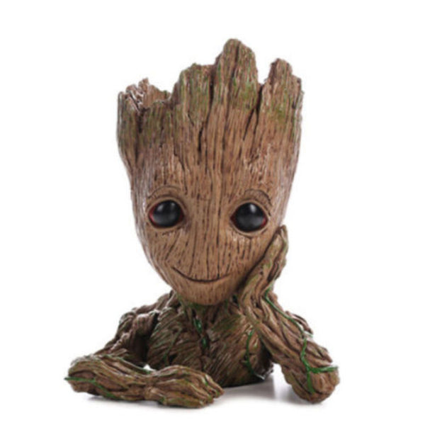 Guardians of The Galaxy Flowerpot Baby Groot Action Figures Model Gifts For Kids Decoration