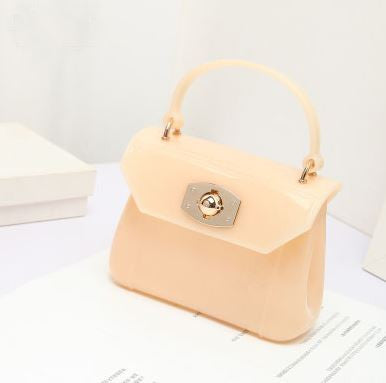 Apricot Girls Jelly Handbag
