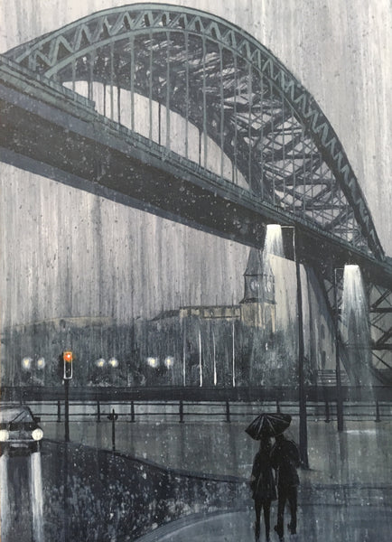 ORIGINAL WORK: QUAYSIDE DOWNPOUR