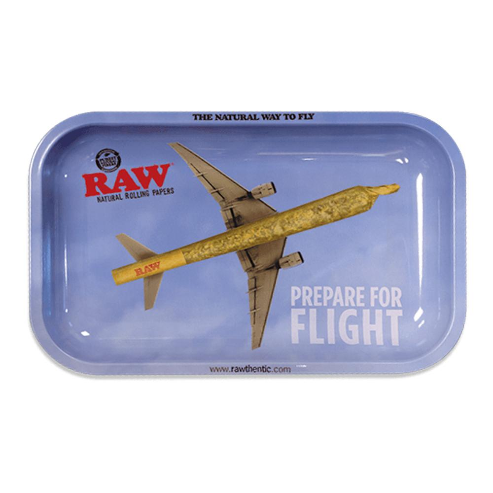 Accessories RAW Prepare For Flight Metal Rolling Tray - Small