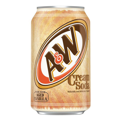 Munchies A&W Cream Soda Soft Drink Can - 355ml