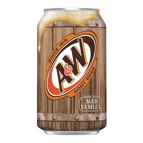 Munchies A&W Root Beer Soft Drink Can - 355ml
