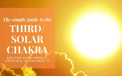 Simple Guide to the Third / Solar Plexus Chakra and the best Gemstones & Crystals to balance it