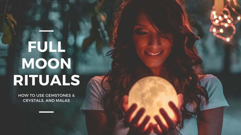 How to create full moon rituals?