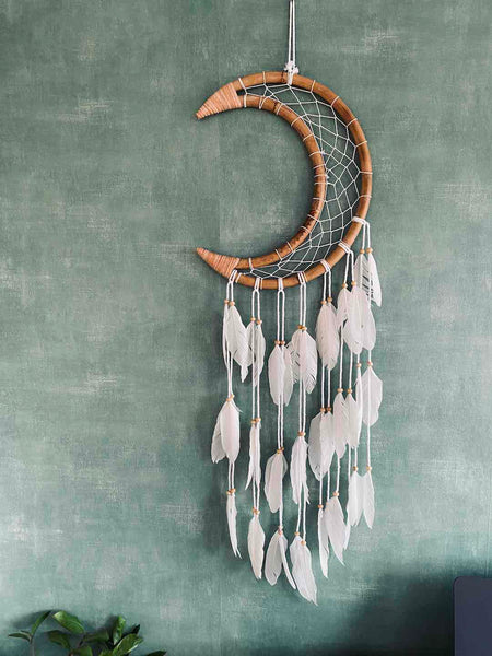 New Moon Dream Catcher Handmade to Inspire in Bali
