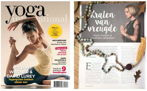 Manipura Malas in Yoga International Magazine 2017