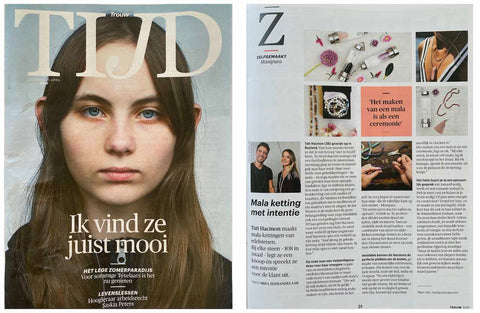 manipura in Trouw Tijd Magazine April 2020