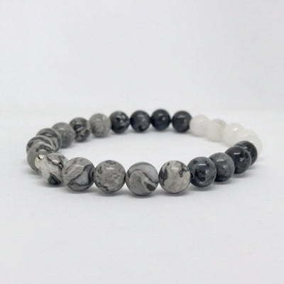 Emotional Stability Gemstone Bracelet by Manipura Malas at 35.00