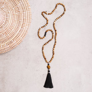 Knowing your Path Gemstone Mala, Manipura - Handmade in Amsterdam