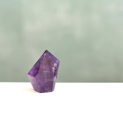 Natural Amethyst Mushroom Crystal by Manipura Malas at 19.50