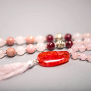 Self Love Gemstone Mala, Manipura - Handmade in Amsterdam