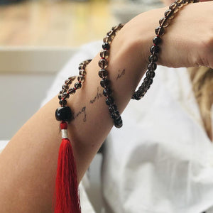 True Passion Gemstone Mala, Manipura - Handmade in Amsterdam