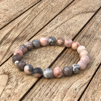 Summer Breeze Gemstone Bracelet, Manipura - Handmade in Amsterdam