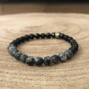 Strength and Confidence Gemstone Bracelet, Manipura - Handmade in Amsterdam