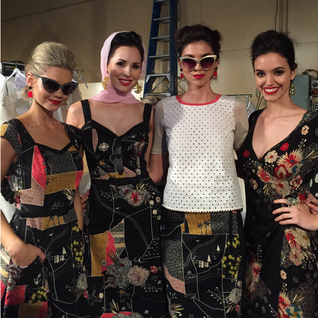 Maiocchi's Backstage Pass at the Mercedes-Benz Fashion Festival Brisbane
