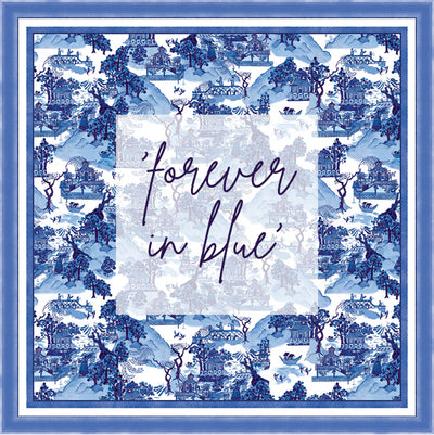 our forever in blue collection xo