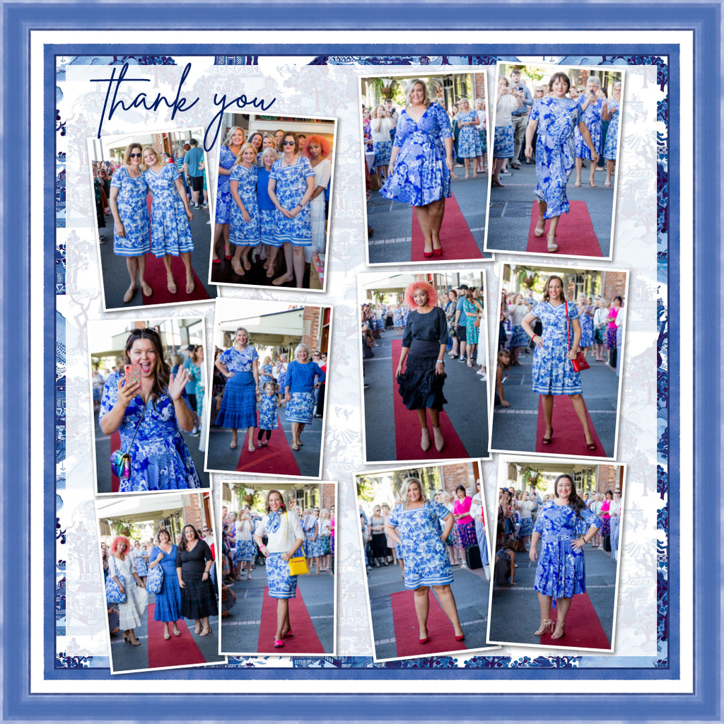 our 'forever in blue' launch party xo