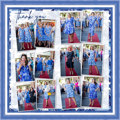 forever in blue... the launch party xo