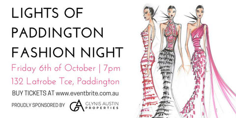 Brisbane Lights of Paddington Fashion Night