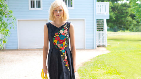 In the Garden | Maiocchi Retro Inspired Spring Dresses